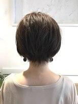 ノート 中目黒(note)[30代・40代大人女性]耳かけ小顔ショート中目黒