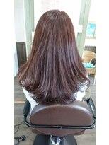 ヘアサロンアンドリラクゼーション マハナ(Hair salon&Relaxation mahana)ツヤとまとまりを♪ニュアンスストレートスタイル!