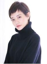 アンルポン 西梅田(un le pont)【un le pont西梅田】大人かわいい☆小顔モードエッジショート