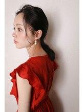 レス(LESS)<LESS>大人女子の可愛すぎないポニーテールアレンジ☆