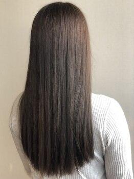 エフプロモーションヴァンカウンシルブリーズ(VAN COUNCIL BReeze)の写真/【縮毛みたいに時間がかからない♪クイックストレート¥11000~】柔らかな自然なストレートを叶えます◎