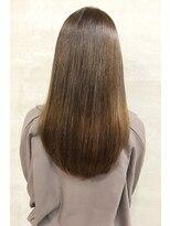 アッシュ 伊勢崎(ash)20代30代40代/ナチュラルブラウン/髪質改善/艶感ストレート