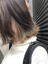 【STILL un label】インナーカラー☆ミルクシルバー