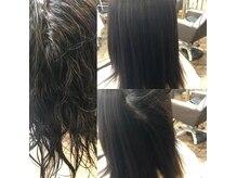 カルフール アメニタ ヘアー(carrefour AMENITE HAIR)の雰囲気(癖が強い方も縮毛矯正 髪質改善でストレスフリー)