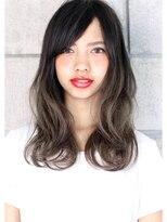 ヘアサロン ガリカ 表参道(hair salon Gallica)☆ 外国人風 『 グレージュ × グラデーション 』semi-long ☆