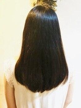 ニコット(nicott)の写真/クセ・うねりでまとまらない方必見!最高級TR【Aujua(オージュア)】で叶える『上質でまとまりのある美髪』