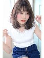 ジュール(Jule)あざと可愛い☆ヘルシーレイヤーミディアム#小顔理論カット