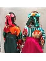 スピカ(Spica*)卒業式☆おそろいリボン&袴スタイル