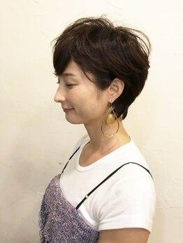 フィールソーナイス フォーヘアー(FEEL SO NICE FOR HAIR)の写真/一度は憧れるショートヘア。施術前にしっかりとカウンセリングを行い、アナタに似合うスタイルをご提案♪