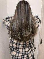 フェクシア ヘアストーリー(FEXIA hair story)【FEXIA】コントラスト3Dラインバレイヤージュ