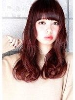 ヘアサロン ガリカ 表参道(hair salon Gallica)『 ピンクベリー × グレージュ 』外国人風 小顔 semi-long☆