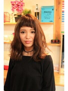 アリシアヘアー(ARISHIA hair)オン眉セミディ☆【ARISHIA hair 那珂】