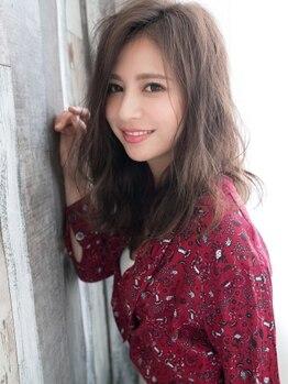 """アリオスヘアー 木場 東陽町(ARIOSE HAIR)の写真/ハーブ白髪染め+Cut¥3900★デザインはもちろん""""上品さと綺麗さ""""にこだわる大人女性の為のグレイカラー♪"""
