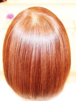 美容室 ドリームスタイルの写真/リピート率98%!!炭酸ヘッドスパと、髪質改善付コースが人気♪今の髪もこれから生える髪[頭皮]も徹底ケアを!