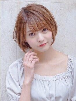 モナン 新宿(Monan)の写真/《新宿西口NEWOPEN☆》一人一人の骨格や髪質に合わせ360°どこからでも似合うショートスタイルに♪
