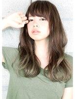 ヘアサロン ガリカ 表参道(hair salon Gallica)『 プラチナグレージュ & 毛束感 』外国人風 ☆ long hair♪