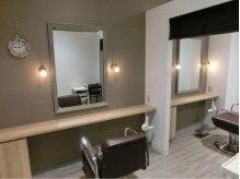 ヘアポート リファイン 清瀬店の雰囲気(VIPルーム2席完備!個室感覚でサロンタイムをお過ごし頂けます。)