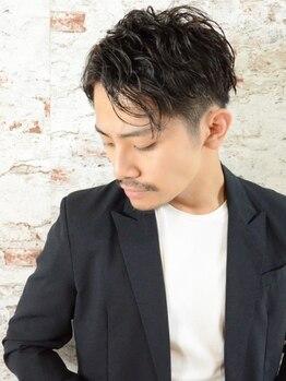 ルーファス 恵比寿 渋谷(Ruufus)の写真/My stylistがきっと見つかる!毎月通いたい信頼の技術◎男性も入りやすいアメリカンテイスト [恵比寿/渋谷]