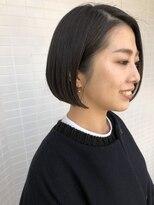 [OCEAN Hair&Life]大人カッコイイ☆大人ミニマムボブ☆