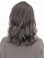 オーブ ヘアー アムール 学芸大学店(AUBE HAIR amour)【AUBE HAIR】フォギーベージュ_セミウェットミディ