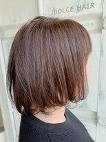 ドルチェヘアー 今里店(DOLCE hair)伸ばしかけナチュラルボブ
