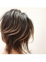 ケーオーエス(KOS beauty hair, nail & eyelash)ミディアムウルフ