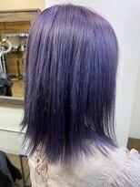 コレット ヘアー 大通(Colette hair)Bob &バイオレットcolor