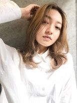 エイチスタンド 渋谷(H.STAND)大人かわいい/小顔/フォギーベージュ/セミウェット[MICOTO]