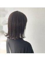 サラ ビューティー サイト 古賀店(SARA Beauty Sight)グレーアッシュ×外ハネボブ