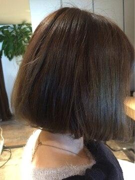 ナチュラル ヘアーデザイニング(Natural hair designing)[宇都宮 美容室 外国人風 Natural]ボブ