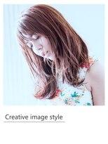 【Creative image styel】外ハネのウエットスタイル
