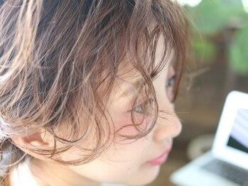 ラベード(LOVEED)の写真/ツヤツヤしっとりな髪色が続く【水カラー】で、視線をひとり占め♪毛先までなめらかな指通りを実感◎