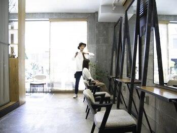 ネロ ヘアサロン 渋谷(NERO HAIR SALON)の写真/《TOKYO HAIR DRESSING AWARD》受賞歴のあるTOPスタイリストが在籍◆技術で叶える本物の似合わせヘアへ。