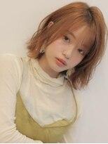 アグ ヘアー リノ 大名店(Agu hair reno)《Agu hair》ナチュラルなくせ毛風ミディ