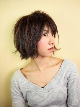 ヘアー グランジ プラス(hair Glunge Plus)軽やかなハネ感、エアリーショートヘア