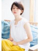 【BAYROOM横浜】透明感のあるエアリー小顔ショート