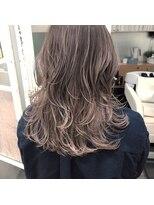 ガーデンヘアー(Garden hair)[松岡]ハイライトミルクティーグレージュ
