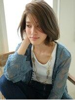 ショコラ アベノ(Chocolat ABENO)大人女性☆アッシュ×マットロングstyle