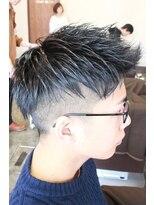 ディスパッチヘアー 甲子園店(DISPATCH HAIR)アップバンク×2ブロック