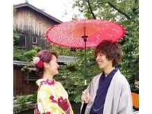 京都着物レンタル はちみつの雰囲気(はちみつはカップルさんにも大人気☆)