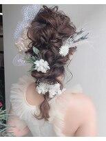 【Beauty salon peige】ブライダルヘア