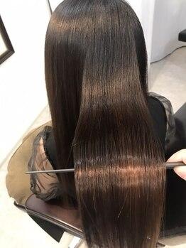リスタート(Re:start)の写真/<NEWFACE/髪質改善専門店>薬剤成分の知識まで熟知したスペシャリストによる施術で長年のお悩みも解決。