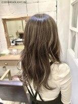フローレス バイ ヘッドライト 三鷹店(hair flores by HEADLIGHT)30代40代人気■ナチュラルベージュハイライト