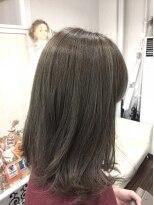 ヘアーデザイン キャンパス(hair design Campus)【Rブリーチ使用☆】コットンアッシュベージュ