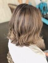 カイナル 関内店(hair design kainalu by kahuna)ドライヴカット×バレイヤージュ