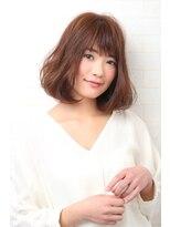キュリオ 尾山台(curio)【curio尾山台】30代・40代 モード3Dカラー × ミニマムボブ