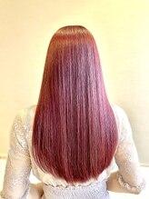 ヘアーリゾート ライフ(Hair Resort LIFE)赤系の高彩度パステルカラー☆フュージョニスト
