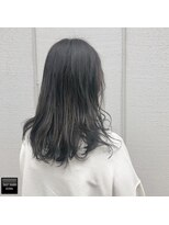 ヘアメイクミワ(HAIR+MAKE MIWA) gray black
