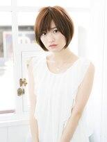プレイスインザサン(PLACE IN THE SUN)【花本】大人可愛い 小顔ショート ナチュラル