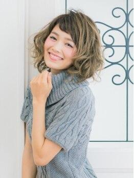 美容室 ハートヘアー(HEART hair)の写真/丁寧なカウンセリングであなたのなりたいスタイルに♪しっかりパーマもゆるふわパーマもお任せください!